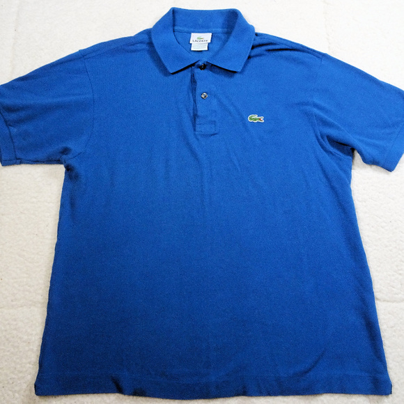 Lacoste Other - Lacoste Devanlay Blue Polo Shirt Size 5 or Large
